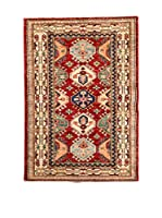 Navaei & Co. Alfombra Kazak Super Beige/Multicolor 126 x 83 cm