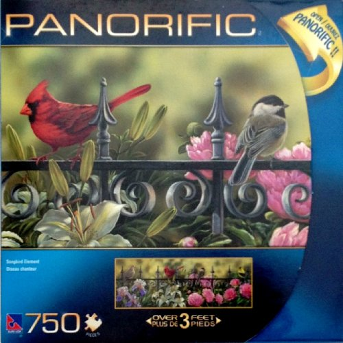 Panorific 750 Piece Puzzle- Songbird Element