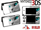 CATS EYES Nintendo 3DS Console Vinyl Skin Cover In a Retail Pack. Order Before 4pm and ill post the same day by Fast 1st Class UK Post.