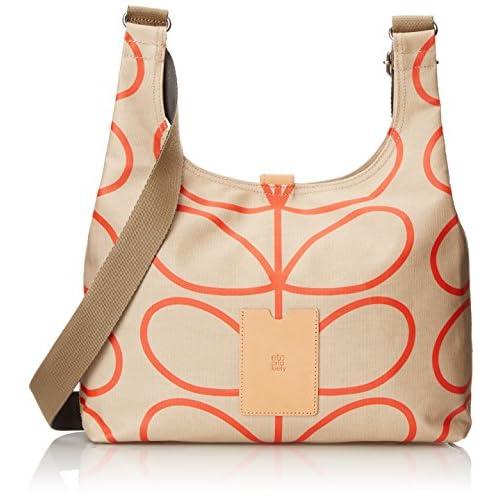 Orla Kiely Women's Giant Linear Stem Midi Sling Shoulder Bag