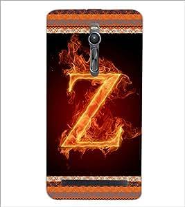 PrintDhaba GRANDbet Z D-2555 Back Case Cover for ASUS ZENFONE 2 (Multi-Coloured)