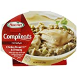 Hormel Compleats Chicken Breast & Dressing, 10-Ounce Microwavable Bowls (Pack of 6) ~ Hormel