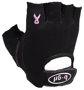 Saranac b-grl Women's Luxe Fitness Glove (Black, X-Small)