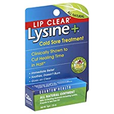 Lysine Lysine + Cold Sore Treatment, 0.25 oz (7 g)