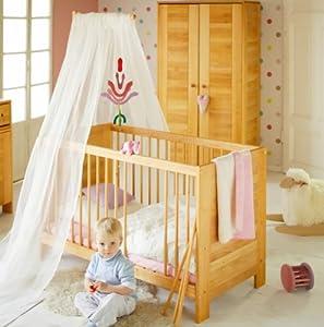 Babybett Kinderbett 60x120 cm Massivholz Erle Niklas  Kundenbewertung und Beschreibung