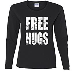Free Hugs Missy Fit Long Sleeve T-Shirt
