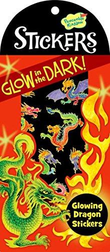 Peaceable Kingdom Glow in the Dark Dragon Sticker Pack - 1