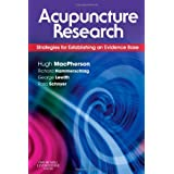 Acupuncture Research: Strategies for Establishing an Evidence Base, 1eby Hugh MacPherson PhD