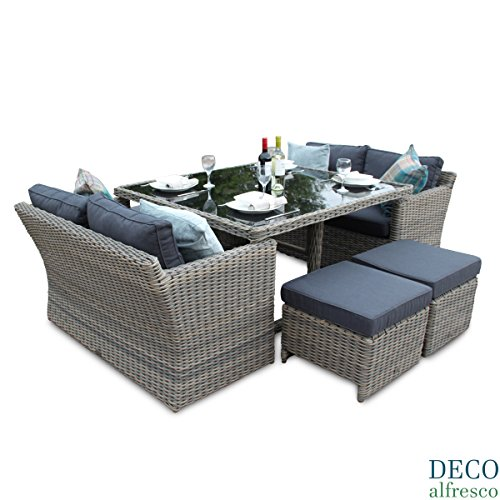 Astonishing Cheap Price 8Pc High Back Sofa Cube Rattan Furniture Set Caraccident5 Cool Chair Designs And Ideas Caraccident5Info