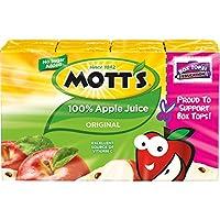 Mott's 100% Original Apple Juice, 6.75 fl oz boxes (Pack of 32)