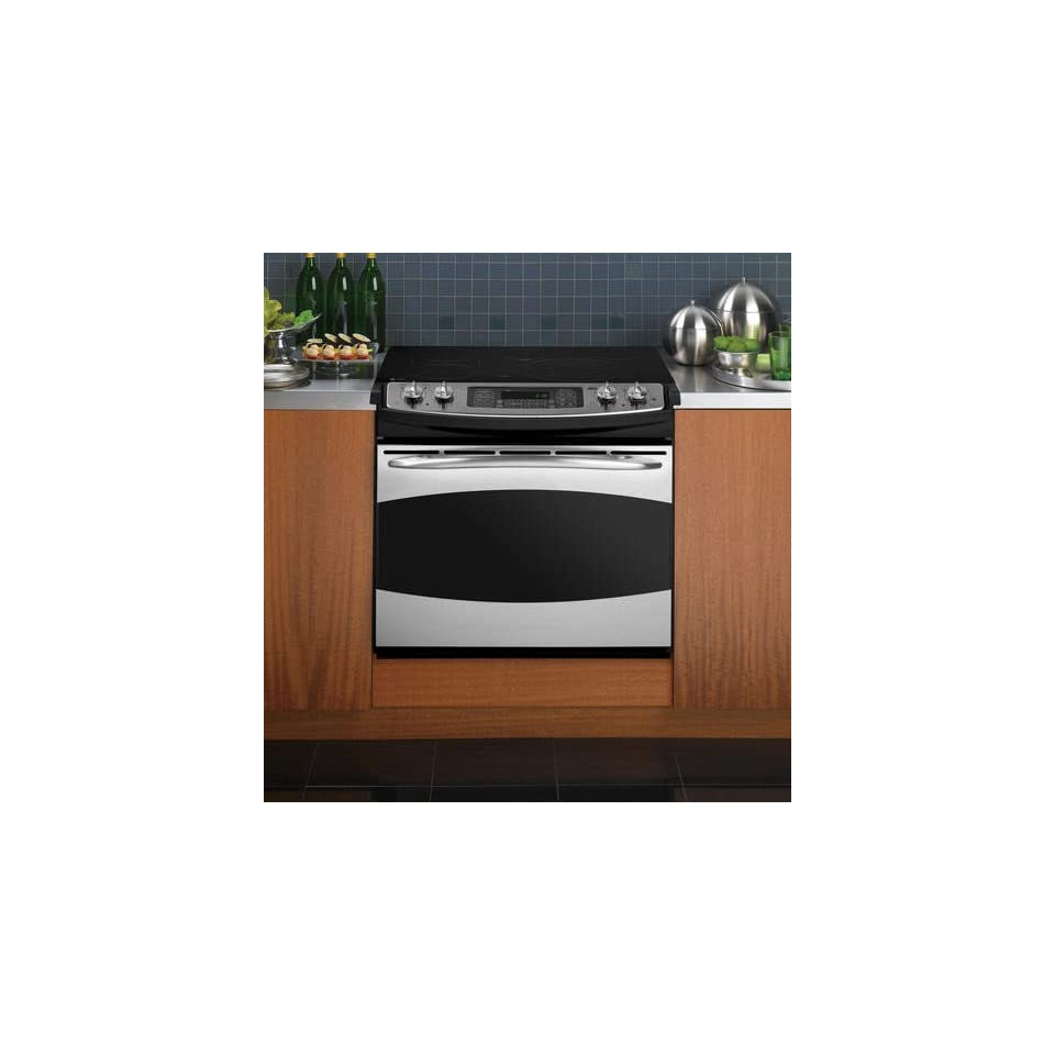 GE PD968SPSS Profile 30 Stainless Steel Electric Smoothtop Range   Convection