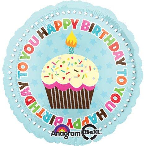 Anagram International Hx Super Sweet Birthday Balloon, Multicolor