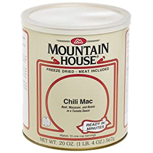 Mountain House 10 Freeze Dried Foods 2