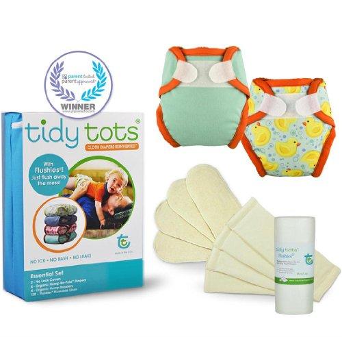 Tidy Tots Cloth Diaper Newborn Set (6-16 lbs) - 1