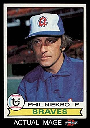 Amazon.com: 1979 Topps # 595 Phil Niekro Atlanta Braves (Baseball Card