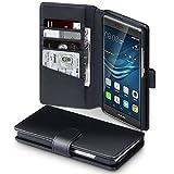 Huawei P9 Plus Case, Terrapin [ECHT LEDER] Brieftasche Case