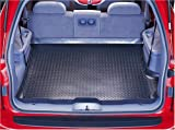 51QS0TDDXKL. SL160  Husky Liners Custom Fit Molded Rear Cargo Liner for Select Jeep Compass/Patriot Models (Black)