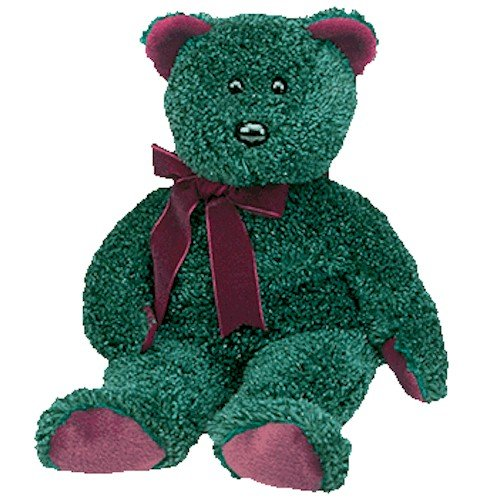 Ty Holiday Teddy 2001 Beanie Buddy
