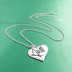 One Direction 'Niall Signature' Heart Necklace from BY GIOIA