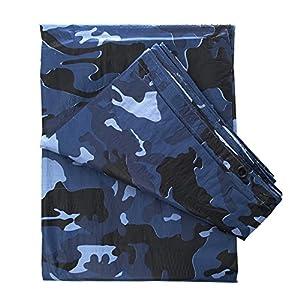 Bache De Terrain Camouflage Camo Sky Blue Melange De 3 Bleu 300 X 200 Cm Fosco 319602 Airsoft Tapis De Sol Tente