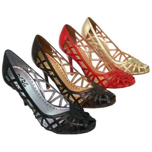 Wedding Shoes: BCBG Paris Dobles Heeled Open Toe Pump-BCBG Wedding Shoes-BCBG Wedding Shoes: BCBG Paris Dobles Heeled Open Toe Pump-Pump Wedding Shoes