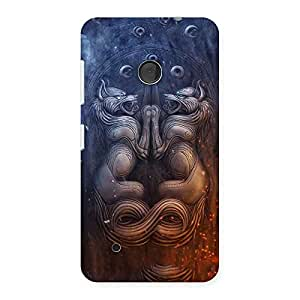 Stylish Hell Door Back Case Cover for Lumia 530