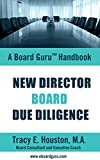 img - for New Director Board Due Diligence (Board Guru Handbook Book 1) book / textbook / text book