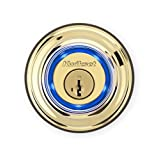 Kwikset Kevo (2nd Gen) Touch-to-Open Bluetooth Smart Lock in Polished Brass
