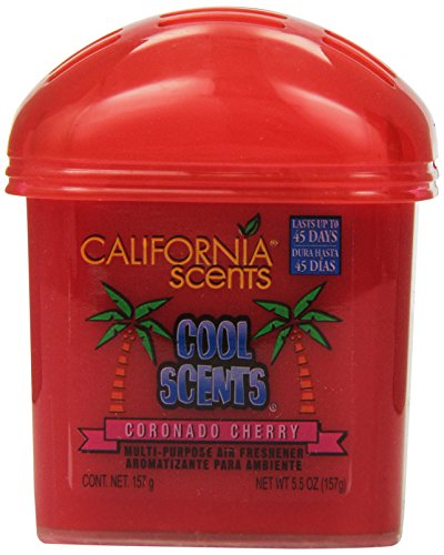 California Scents Solid Dome, Coronado Cherry, 5.5-Ounce Jars (Pack of 12) (Cherry Shaped Air Freshener compare prices)