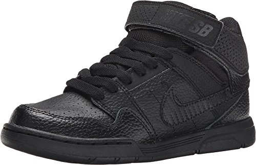 Nike Kids Mogan Mid 2 Jr B Skate Shoes (11.5, Black/Black) (Nike Mogan Mid 2 Jr compare prices)