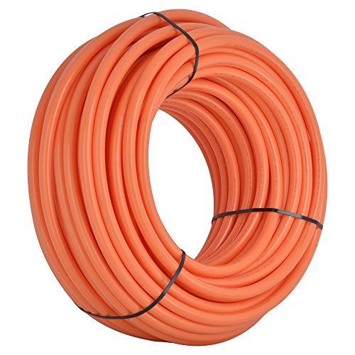 SharkBite U880O100 1-Inch PEX Tubing, 100 Feet, ORANGE, for radiant heat, hydronic heating and tile floor heating systems. (Hydronic Radiant Heating compare prices)