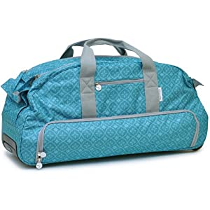 Silhouette Cameo Rolling Tote, Teal