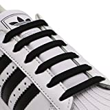 INMAKER No Tie Shoelaces for Kids and Adults, Elastic Shoelaces for Sneakers, Silicone Flat Tieless Running Shoe Laces
