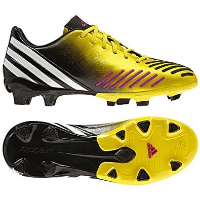 Adidas Predator Absolion LZ TRX FG Junior (Vivid Yellow/Running White/Vivid Pink) (5.5)