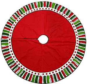 "M. Bagwell 54"" Cotton Christmas Tree Skirt by Caffco International"