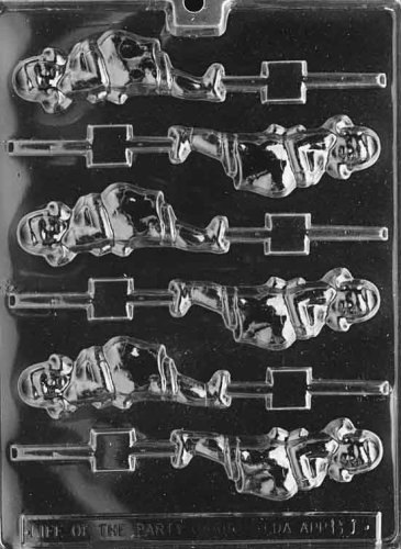 PREGNANT LADY LOLLY Baby Candy Mold Chocolate