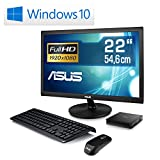 Mini-PC-lautlose-CSL-Narrow-Box-4K-Win-10-inkl-22-ASUS-TFT-Silent-PC-mit-Intel-QuadCore-CPU-1840MHz-32GB-SSD-Intel-HD-WLAN-USB-30-HDMI-Bluetooth-Windows-10-22-ASUS-TFT