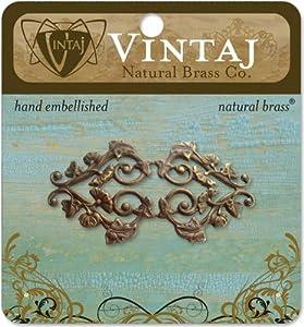 Vintaj Metal Accent, Deco Vines Filigree *** Product Description: Vintaj Meta...