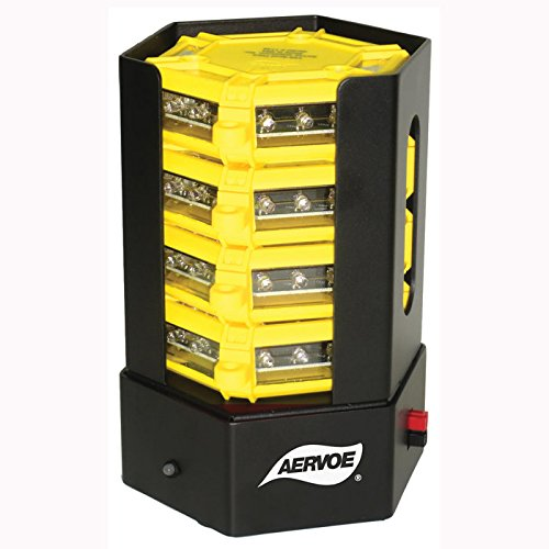 Aervoe Universal Road Flares And Charging Station - Set Of 4