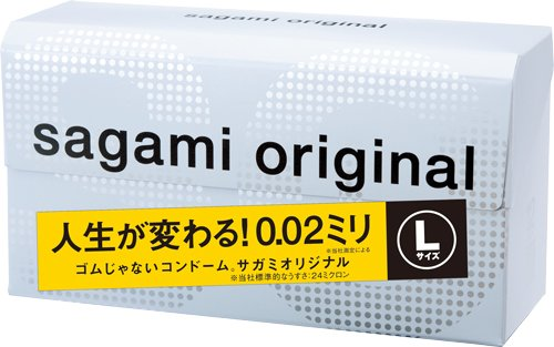 Sagami Original 0.02mm Large Size 12 Pcs Pack