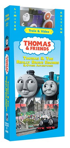 Thomas & Friends Thomas & Really Brave Engine W/Train [VHS]