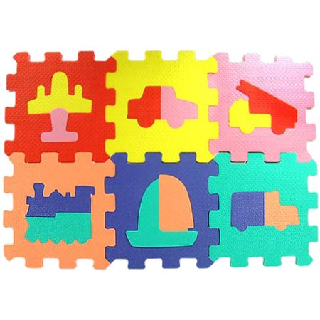 Cheap Wandix International Wandix International Vehicle Zippy Mat Puzzle (B000BXM8I8)