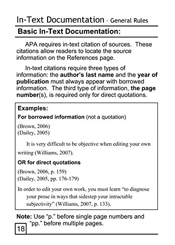 "apa book essay Apa style: beginner""s guide american psychological association style, 6th edition (2009) book/encyclopedia (volume, pp."