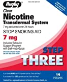 Rugby Clear Nicotine Transdermal System 7 mg *Compare to Habitrol*