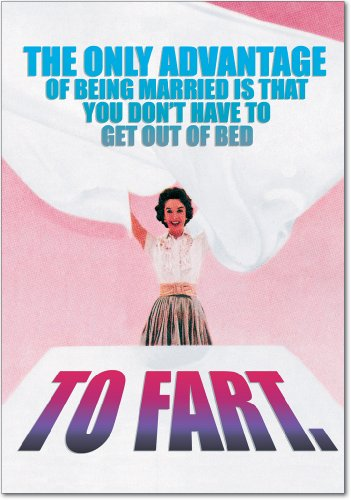 Get Out of Bed Anniversary Card