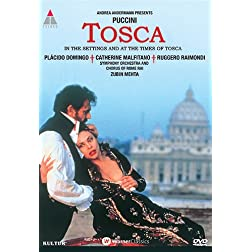 Tosca: Live in Rome starring Placido Domingo