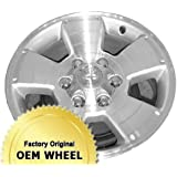 TOYOTA TACOMA 17X7.5 5 SPOKE Factory Oem Wheel Rim- MACHINED FACE SILVER - Remanufactured