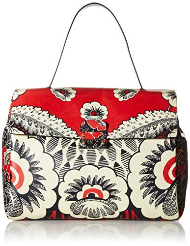 Valentino-Womens-Single-Handle-Bag-RedWhiteBlack