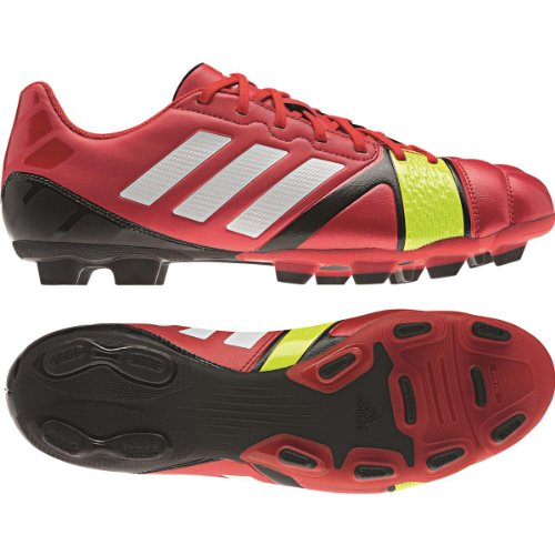 Adidas Nitrocharge 3.0 TRX FG Fussballschuhe vivid red-electricity-running white - 43 1/3