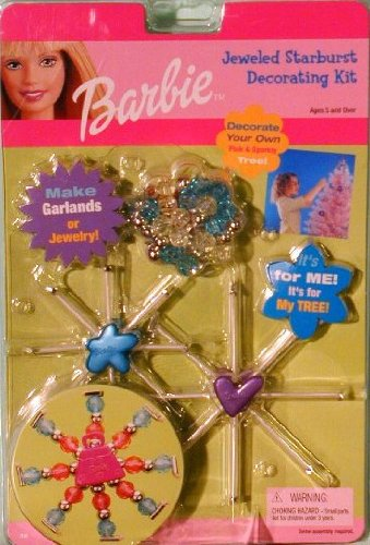 Barbie: Jeweled Starburst Decorating Kit - 1